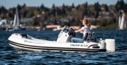 Highfield Boats electric RIB